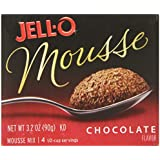 Jell-O Instant Chocolate Mousse, 3.2-Ounce Packages (Pack of 6)