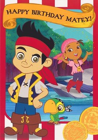 Jake e i pirati Never Land-Happy Birthday Matey