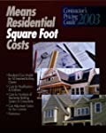 Residential Square Foot Costs
