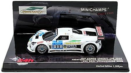 Minichamps - 437080911 - Véhicule Miniature - Modèle À L'échelle - Hhf Hybrid Concept Car 2008 - Echelle 1/43