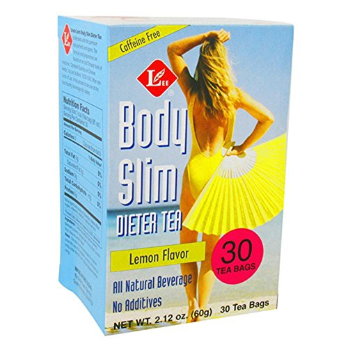 Uncle Lees Body Slim Dieter Tea, Lemon Flavor - 30 Tea Bags, 4 Pack