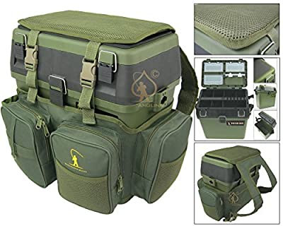 Fishing Seat Box & Rucksack. Roddarch© Fly Sea Coarse Fishing Seat Backpack. from Silver Bullet Trading