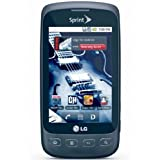 LG Optimus S LS670 Black Sprint Cell Phone