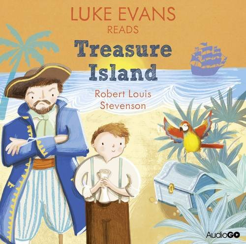 Luke Evans Reads Treasure Island (Famous Fiction) (Audiogo)