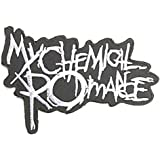 "MY CHEMICAL ROMANCE Logo Iron On Sew On Embroidered Patch Applique 4.2""/11cm"