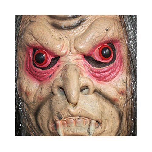 [KESEE Bloody Face Off Horror Halloween Costume Mask] (2 Person Halloween Costumes For Kids)