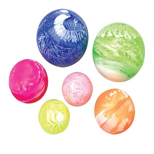 US Toy Marble Bouncy Balls