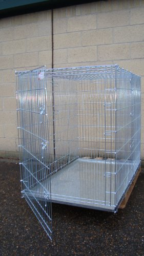 Extra high GIANT dog cage 54