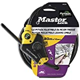 Master Lock Python 1800x10mm adjustable Cable Lock Black