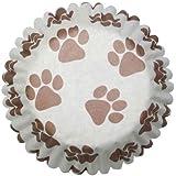 1 X Paw Print Cupcake Cases