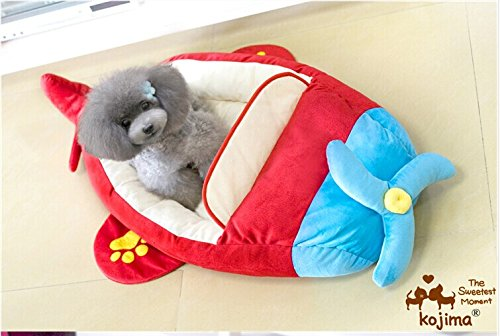 Luxury Cozy Cute Cool Airline Airplane Design Pet Bed House for Small-medium Dog and Cats
