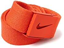 Nike Men's Tech Essentials Web Belt, Team Orange, One Size