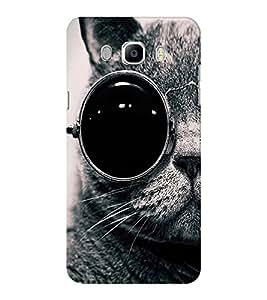 EPICCASE Swag cat Mobile Back Case Cover For Samsung J5 2016 (Designer Case)