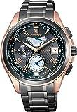 [シチズン]CITIZEN 腕時計 EXCEED エクシード 【数量限定850本】 エコ・ドライブ電波時計 【LIGHT in BLACK】シチズンが創り出す様々な「時」をエコ・ドライブを搭載する5つのモデルで伝えるブランド横断企画。 AT9055-54E メンズ