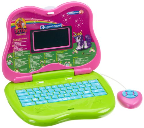 Filly Laptop Sprechender Lerncomputer Clementoni 69325.2