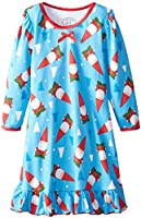 Sara's Prints Girls' Puffed Sleeve Nightgown