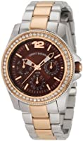 Tommy Bahama RELAX Women's RLX4007 Riveria Two-Tone Brown Dial Stones Watch by Torquere Press