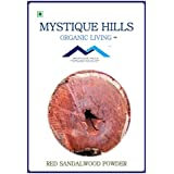 MYSTIQUE HILLS - ORGANIC RED SANDALWOOD POWDER (PREMIUM QUALITY) (100 GR)