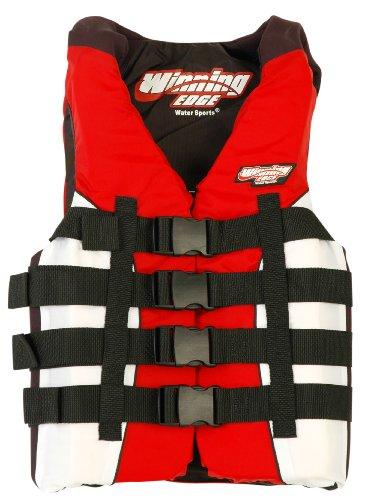 Image of Winning Edge Neo-Nylon Life Jacket Red/White - Voted #1 (B001PNEA84)
