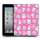 Head Case Yogurt And Ice Cream Fast Food Pattern Hard Back Case For Apple iPad 2