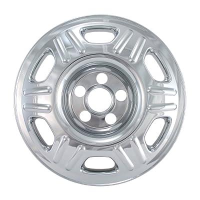 "Bully Imposter IMP-65X, Honda, 16"" Silver Replica Wheel Cover, (Set of 4)"
