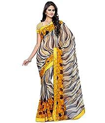 Pushkar Sarees Chiffon Saree (Pushkar Sarees_8_Multi-Coloured)