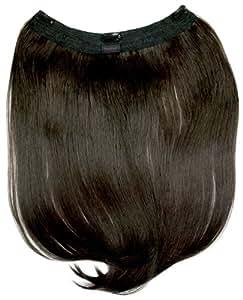 "Tressecret 18"" Clip In Futura Hair Extension, Medium Brown"