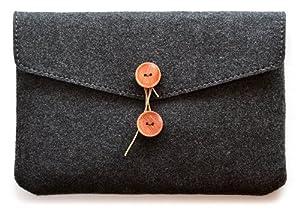 ハンドメイドフェルトケース for iPad mini (ブラック)