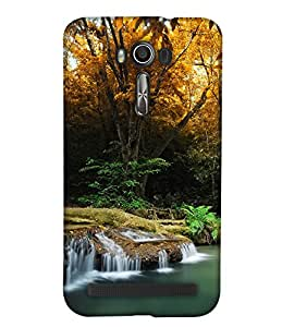PrintHaat 3D Hard Polycarbonate Designer Back Case Cover for Asus Zenfone 2 Laser ZE500KL (natural beauty :: beautiful wallpaper :: serene beauty :: wonderful nature :: mesmerizing nature :: misty mountains :: lush green scenery :: under water life :: beautiful island :: incredible)
