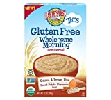 Earth's Best Organic Wholesome Morning Hot Cereal, Gluten Free Sweet Potato & Cinnamon, 12 Ounce FlavorName: Gluten Free Sweet Potato & Cinnamon Hot Cereal, Model: , Newborn & Baby Supply