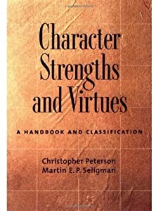 "Cover of ""Character Strengths and Virtues..."