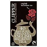 Clipper Fairtrade Organic Speciality English Breakfast Tea Bags 40 per pack