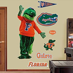 NCAA Florida Gators Albert Mascot Wall Graphic by Fathead