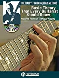 VARIOUS Happy Traum Gtr Method Basic Theory Every Guitarist Should Know Bk/Cd (Book & CD)