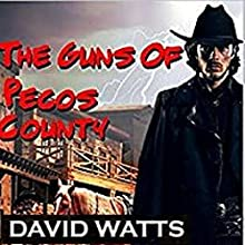 The Guns of Pecos County: Hell or High Water Western Series, Book 1 | Livre audio Auteur(s) : David Watts Narrateur(s) : Steve Stansell