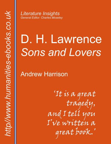 a literary analysis of sons and lovers by d h lawrence and a comparison to montana 1948 by larry wat Search the history of over 338 billion web pages on the internet.
