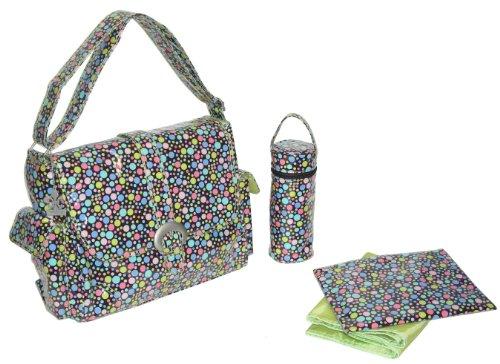 kalencom-fashion-diaper-bag-changing-bag-nappy-bag-mommy-bag-laminated-buckle-bag-bubbles-pastel