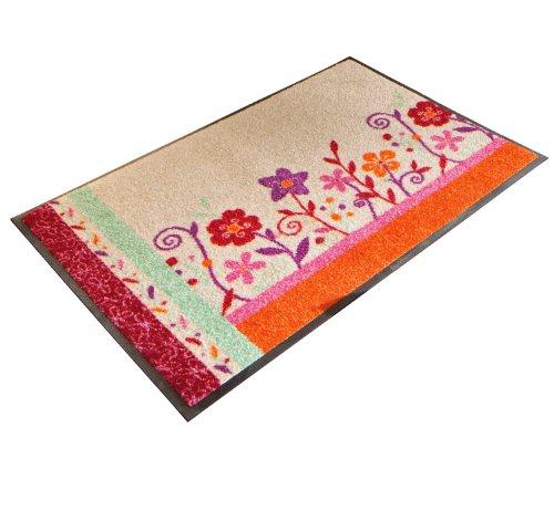 wash+dry Fußmatte Bunt Größe 75×120 cm