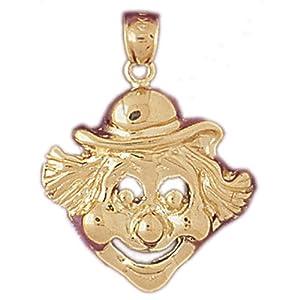 CleverEve's 14k Gold Charm Clowns 5.2 - Gram(s)