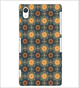 PrintDhaba Pattern D-5388 Back Case Cover for SONY XPERIA Z3 (Multi-Coloured)