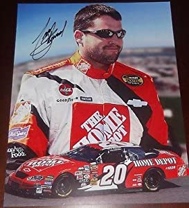Signed Tony Stewart Picture - Home Depot 11x14 COA! - JSA Certified - Autographed... by Sports Memorabilia