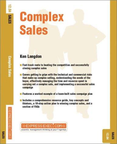 Complex Sales