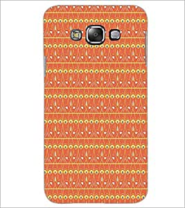 SAMSUNG GALAXY J7 FACE PATTERN Designer Back Cover Case By PRINTSWAG