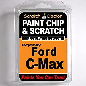 FORD C-Max Touch Up Paint Stone Chip Scratch Repair Kit 2011-2014 by The Scratch Doctor