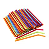 Farberware Color Straws, Mixed Colors, 125 Count