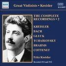 Kreisler: The Complete Recordings, Vol. 2 (1911-1912)