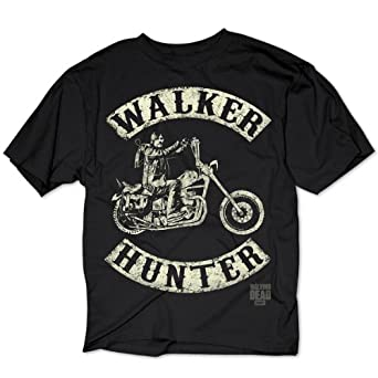 .com: The Walking Dead T-Shirt Walker Hunter (Daryl Dixon): Clothing