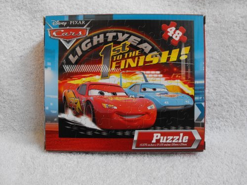 Disney Pixar Cars 48 Piece Puzzle ~ 1st to the finish line - 1