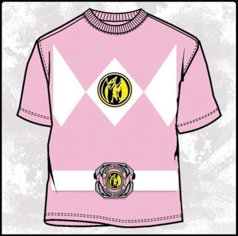 Power Rangers Costume Pink Ranger T-Shirt