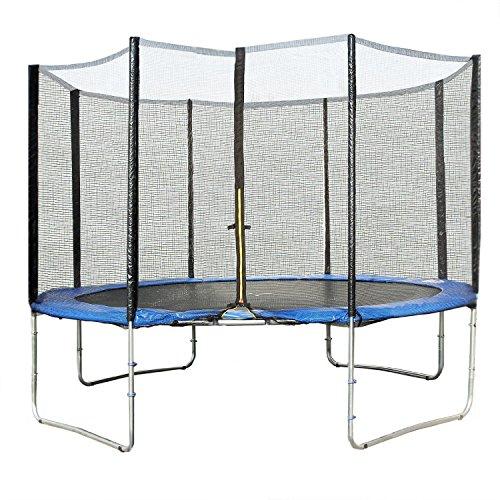 Acheter un trampoline avec ou sans filet meilleur loisir - Protection trampoline ...